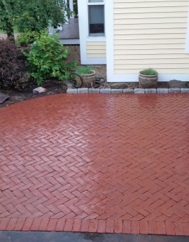 Bow Brick Patio and Walkway