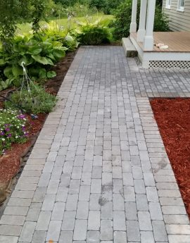 Concord wrap around Paver Walkway