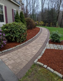 Bow Replacement walkway Ledgestone